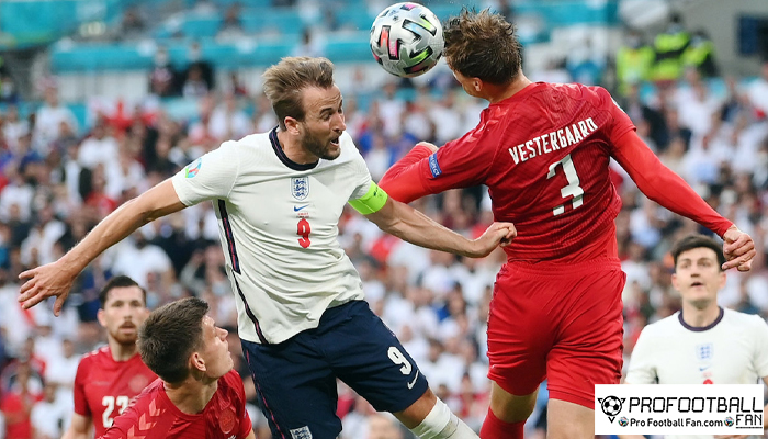 อังกฤษ ปาดเหงื่อแซง เดนมาร์ก 2-1 เข้าชิงหนแรก